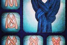 lenços e cachecol