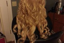Southern Belle Beauty loves hair extensions! / This board is a portfolio showing how we utilize a variety of hair extensions to enhance our wedding updo's and formal hair styles. Call us today to get yours!