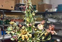 Shabby chic chandeliers / www.luxdomus.co.uk