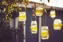 Luminárias suspensas artesanato