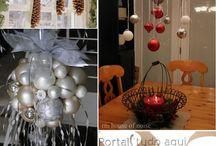 Bolas colgantes Navidad