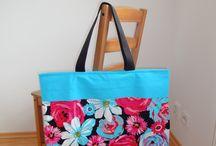 My handmade bags, totes and pouches - mé ručně šité tašky a taštičky