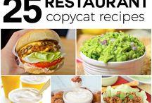 Food - Copycat Recipes