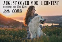 MSA Models / We have a monthly Cover Model Contest and occasionally other contests to help keep our site, donations, and mission going.