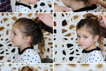Cheveux - Coiffure Petite Fille