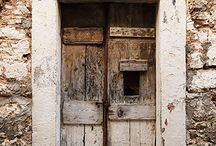 Doors and Windows in Greece.
