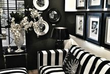 The Black and White Room