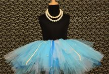 Beautiful little tutus. / Oh-so-girly and frilly tutu skirt for little girls.