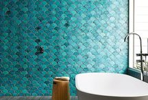 Wallpaper Designs / Inspirational wallpaper designs for every room style. Modern, luxury, minimalist, farmhouse, rustic,  chic, vintage, cottage, nature, natural, tropical, and more.