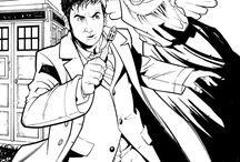 dr. Who - coloring pages