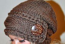 Pletená zajímavá krása pro moje vlásky
