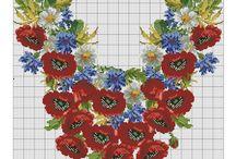 Fiori / cross stitch desjgns