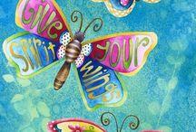 mariposas y libèlulas