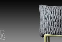 Knitted Cushions / Mollis luxury knitted cushions and home decor products hand made using the finest of yarns and materials.