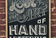 Liefde voor letters / Als schrijver hou ik nu eenmaal van woorden, letters en fonts.