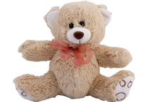 """Classic Teddy Bears / """"Thank you"""" """"I love you."""" """"I'm thinking of you."""" Whatever you're trying to say, these Teddy Bears are the perfect way to get your message across in a simple, yet powerful way. You can't go wrong when you send one of these classic Bears. Each Bear arrives with a gift card with your personalized message."""