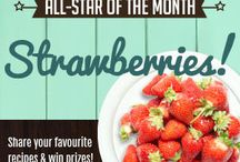 June all-star: Strawberries / Share your favourite recipes featuring our all-star of the month - strawberries - before June 30 for a chance to win great prizes! And don't miss our all-star announcements and Picks of the Month: sign-up for Live Green Toronto News to stay in the loop! Visit http://bit.ly/livegreennews today.