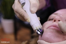 Micro-Channeling Training Pictures / Dermal micro-channeling offers the simultaneous delivery of infused ingredients in a pain-free, no downtime treatment and is often an alternative to fractional laser treatments. http://www.iapam.com