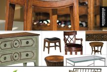 Woodbridge Furniture Casual Living / Woodbridge Furniture in Charlotte NC. Woodbridge Furniture develops their own products using classic design forms adapted to the casual lifestyles of today's world. The wood finishes are rich, completed by hand-rubbing to yield very distinctive pieces of furniture. Woodbridge offers a variety of styles and looks. http://www.goodshomefurnishings.com/woodbridgefurniture/ / by Good's Home Furnishings