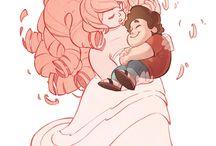 Steven Universe - Steven and Gems