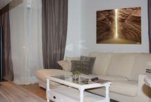 Mobiliario en casa de Sant Antoni de Vilamajor / Los clientes sólo necesitaban amueblar la casa.Un requisito muy importante fue que tenía que tener un toque romántico pero con un presupuesto ajustado. De manera que hicimos una combinación de muebles de Ikea con otros fabricantes.