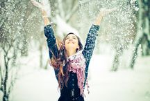 Posing Winter