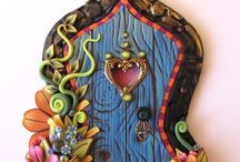 Inspiration - Fairy Doors / Magical Fairy Doors - let the little people in