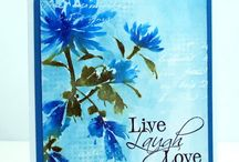 """Penny Black Brushstroke Stamps *Bejewelled *the Unfolding *the Sweetest Sound"""""""