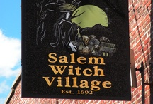Salem Witch Village / Salem is a coastal city in Essex County, Massachusetts, in the United States. Located on Massachusetts' North Shore, Salem is a New England bedrock of history and is considered one of the most significant seaports in Puritan American history. In Salem, every day seems to be Halloween. On a normal afternoon, women in black cloaks and pointy hats can be seen walking through the shopping mall past windows full of pumpkins and skeletons.