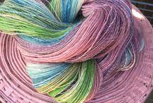 mooie wol zelf of is geverft