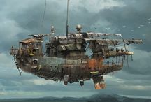 The HMS Pegasus / Quite Firefly, kind of Dieselpunk, a little Steampunk, even some Star Wars - the HMS Pegasus, her crew, other ships such as the Lady Alice, places they've visited, and miscellanea from the surrounding 'universe' of HMS P.