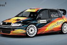 Legend Fires National Rally Team - John Stone - Carl Williamson