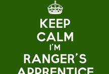 """Ranger's Apprentice / """"Remember the basic rule: Trust the cloak."""""""