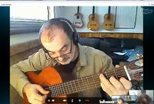 "Music Lessons / Classical Guitar Teacher, Teach students private in my home studio and online through ''SKYPE"" also Piano lessons in my studio .Visit my web Site for details. / by Nodar Odikadze"