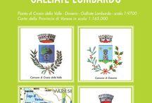 Crosio della Valle, Daverio e Galliate Lombardo / La nuovissima mappa dei tre comuni con tutte le foto e le informazioni utili