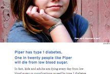 Juvenile Diabetes ~ TYPE 1 / by Lori Haapala