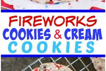 Red White and Blue Recipes / Red, White and Blue recipes for Memorial Day, July 4th or Labor Day. Includes dessert recipes, appetizers, salads, sides and everything in between. Perfect food for a party, potluck or BBQ / holiday cookout.