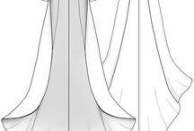 Drawing, Fashion design