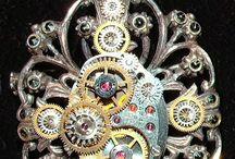 Steampunk Jewels / Steampunk Inspired Jewellery..