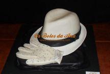 MJ hat cake