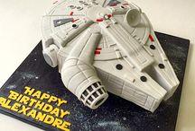 Isa Star Wars cake