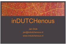 inDUTCHenous / schilderkunst geïnspireerd op Aboriginal kunst