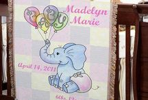 Personalized Baby Blankets & Throws
