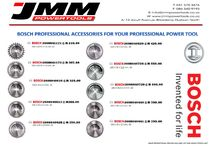 Bosch Professional Accessories for your Professional Power Tool