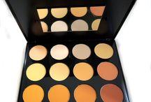 12 Professional Colors Face Concealer Camouflage Contour Palette Powder