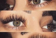 extension eyelashes brows