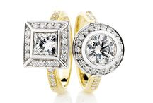 Diamond Engagement Rings / The most beautiful, exquisite and grand diamond engagement rings.  After all, diamonds are a girl's best friend!  http://www.hollowaydiamonds.com.au/engagement-ring/