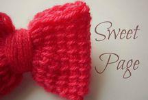 Φιόγκοι / Αξεσουάρ για όλες τις εποχες για τα μαλλιά σας μονο απο την Sweet Page!!!!