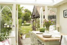 Conservatories / Make the most of the conservatory in your #home with these brilliant #decor ideas