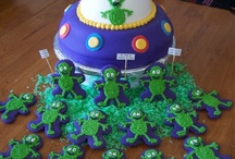 Shahir's Alien Space Party